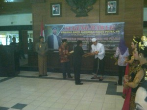 Launch of the Keris Kanjeng Kyahi Gajah Putih