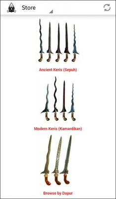 keris indonesia android app